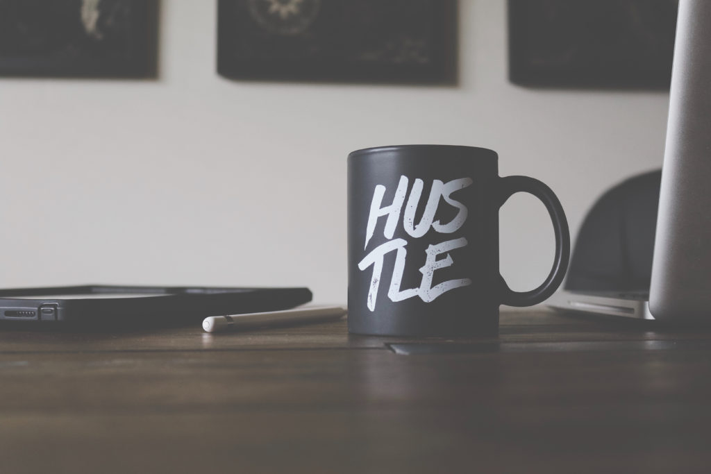 hustle-coffee-cup-know-your-worth-wedding-planner-pricing